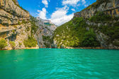 Beautiful canyon Verdon