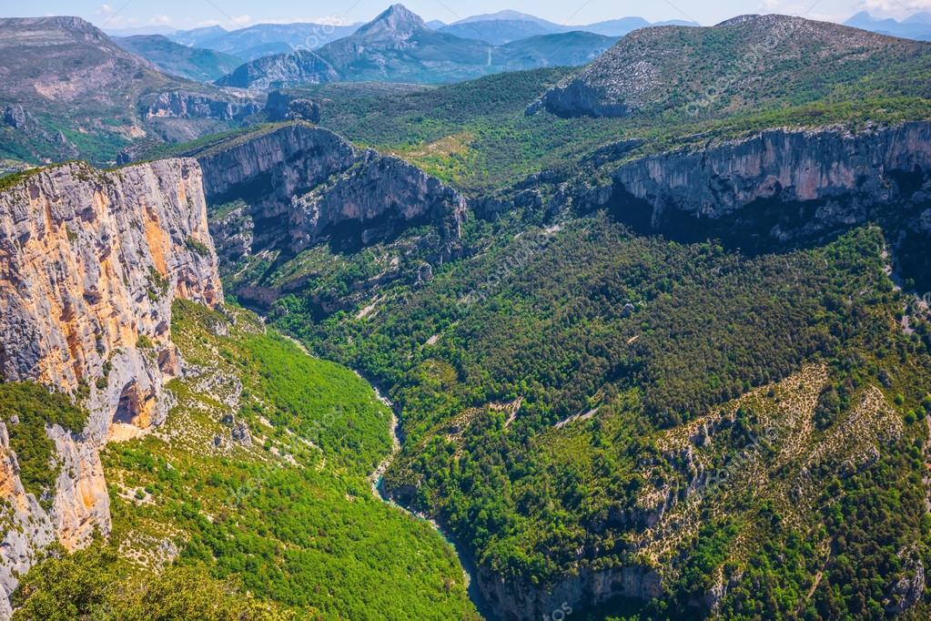 Canyon of Verdon,  France