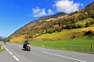 Highway in Alps