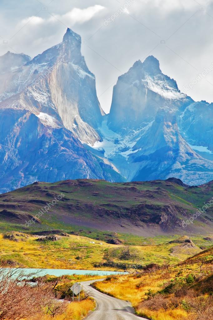 Majestic peaks in Patagonia