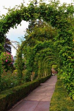 Scenic park Butchart Gardens