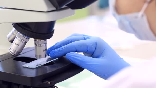 Medical Microscope for clinical laboratory diagnostics and clinical morphology.