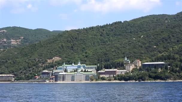 St. Panteleimon Monastery. Holy Mount Athos. Northern Greece.