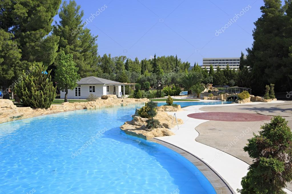 piscine de l 39 h tel porto carras meliton photographie