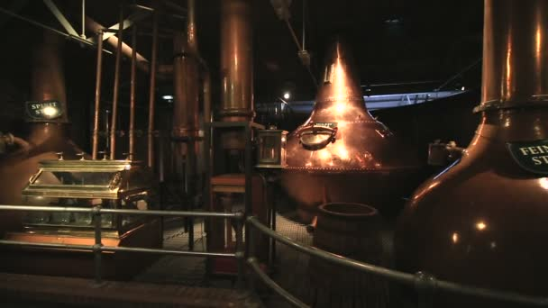 Triple distillation. Old Jameson Distillery Tours