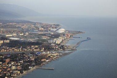 Olympic Park on the Black Sea coast.
