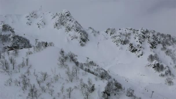 Beautiful mountain peaks of Caucasus Mountains