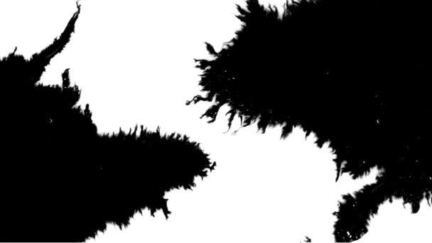 Malovaný černý inkoust světelný prvek.