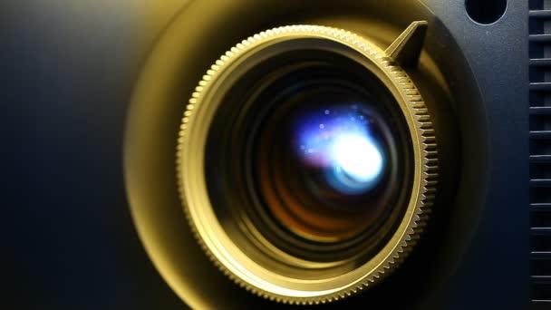 objektiv projektoru digitální film