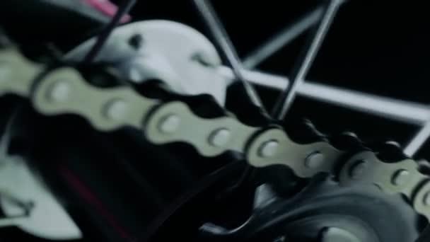 Kerékpár, átvitel lánc.