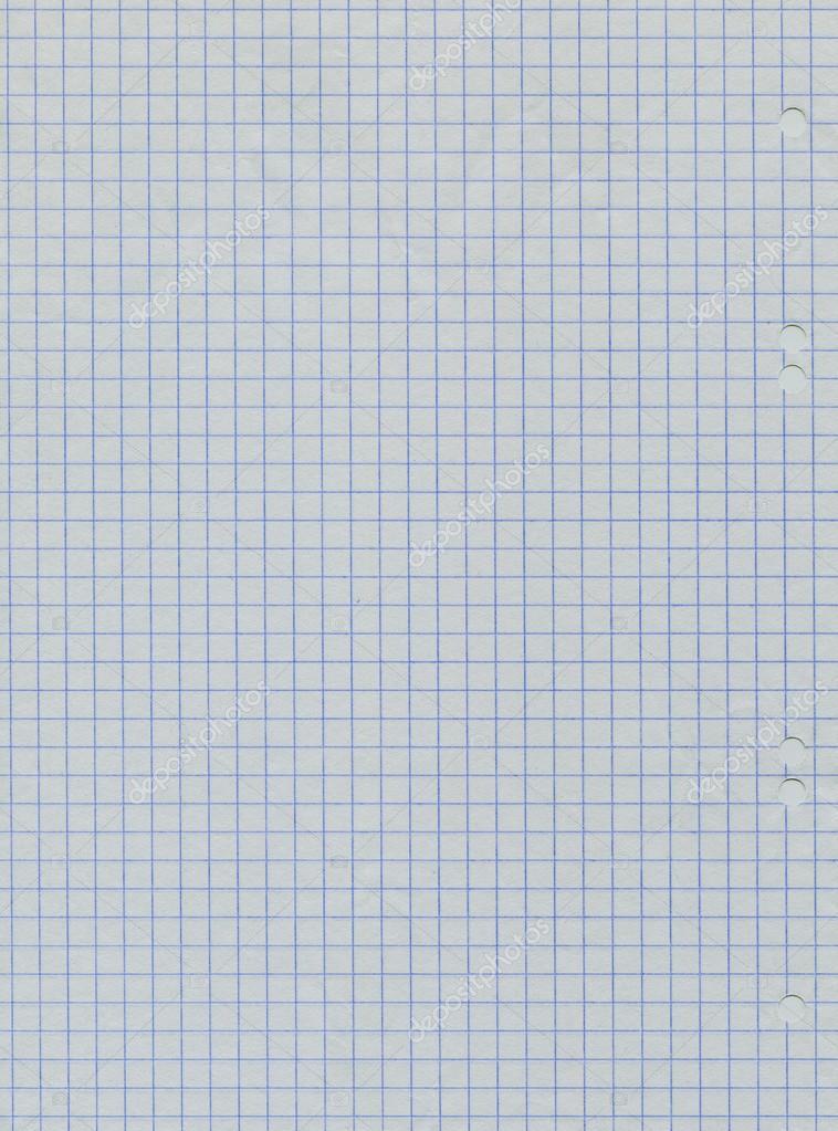 Blank squared notebook sheet — Stock Photo © MADDRAT #79500382