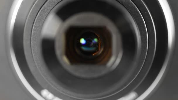 Digitális fényképezőgép zoom és fókusz