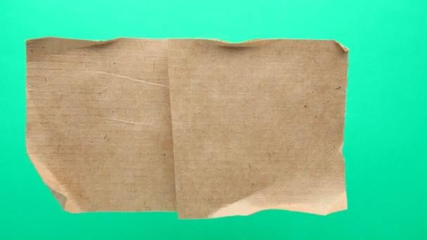 Papíru stop animace