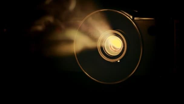 filmový projektor čočka
