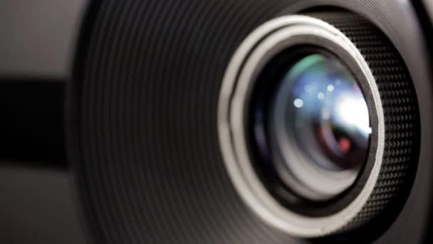 Film projector lens