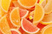 Fotografia caramelle di gelatina colorata