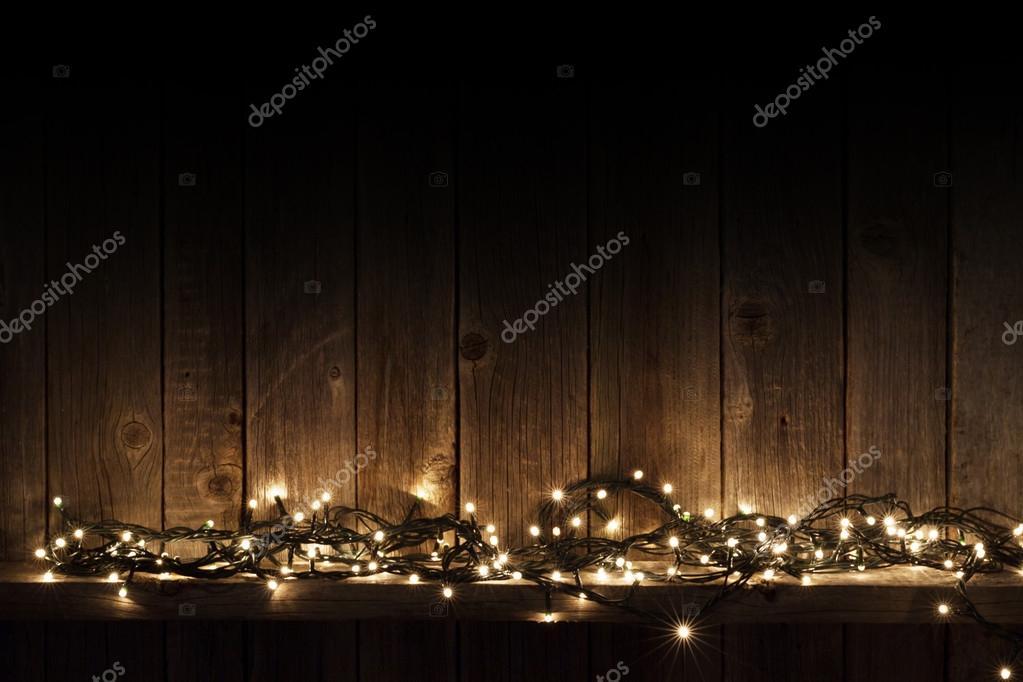 yellow Christmas lights