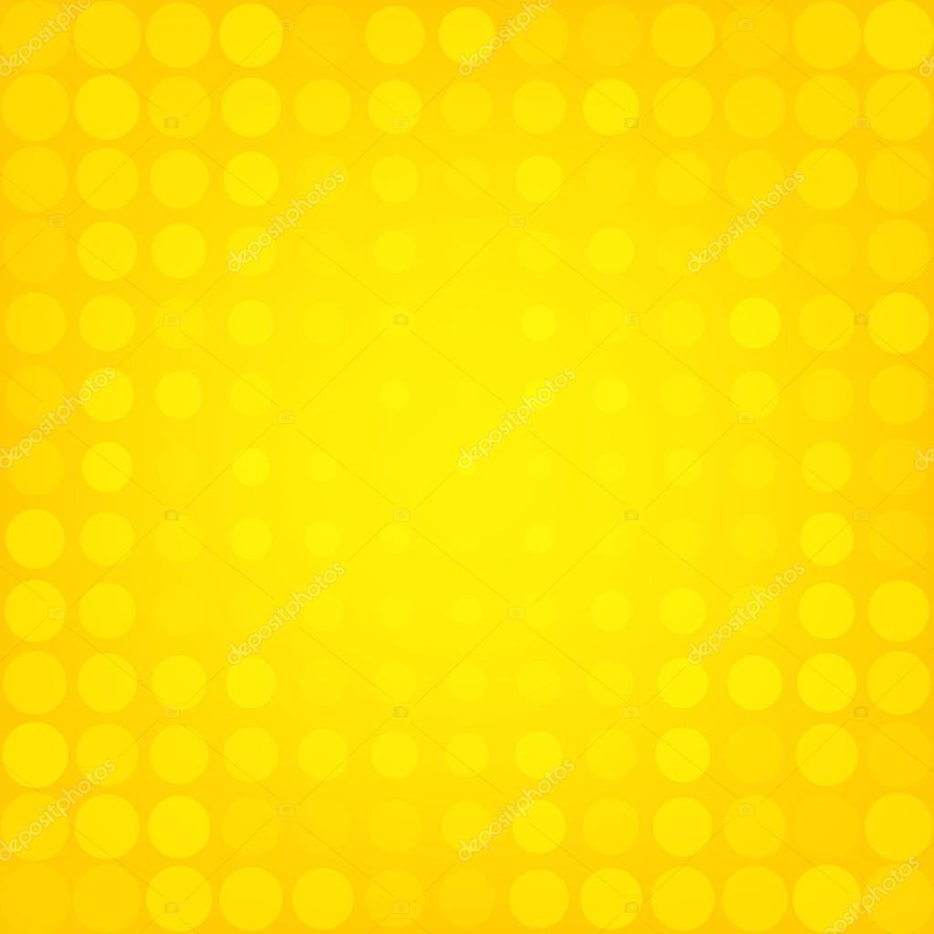 abstract dotted yellow background � stock vector