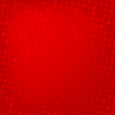 Abstract dotted red background texture stock vector