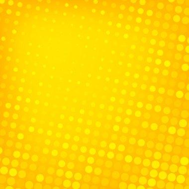 """Картина, постер, плакат, фотообои """"абстрактный пунктирный желтый фон """", артикул 55358963"""