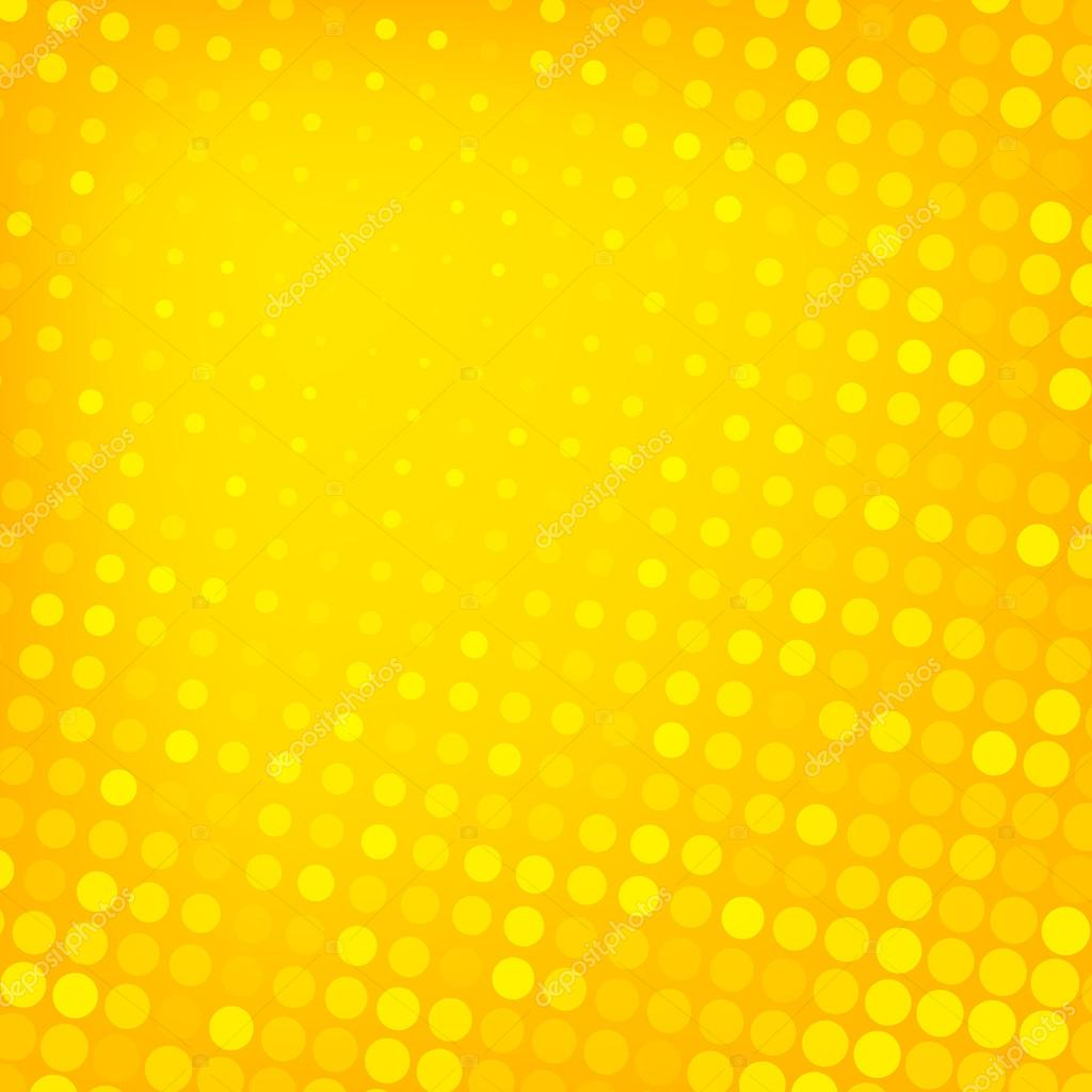 Abstract dotted yellow background