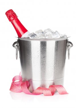 Champagne in bucket