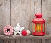 Fotografie Vánoční svíčka Lucerna