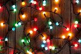 luci colorate di Natale