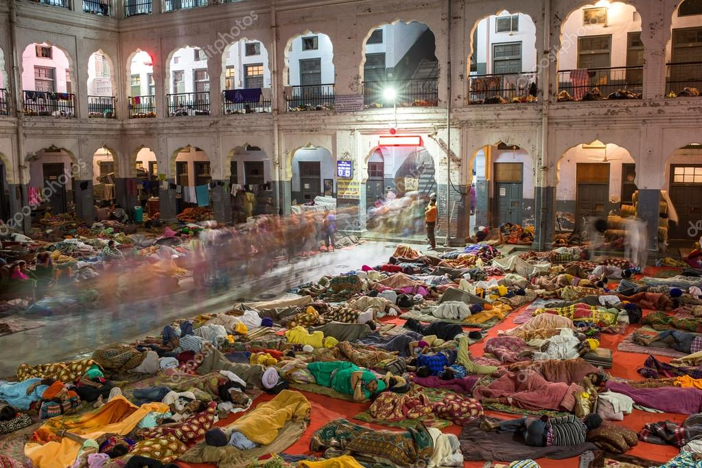 Indian People Sleeping On The Floor Stock Editorial Photo