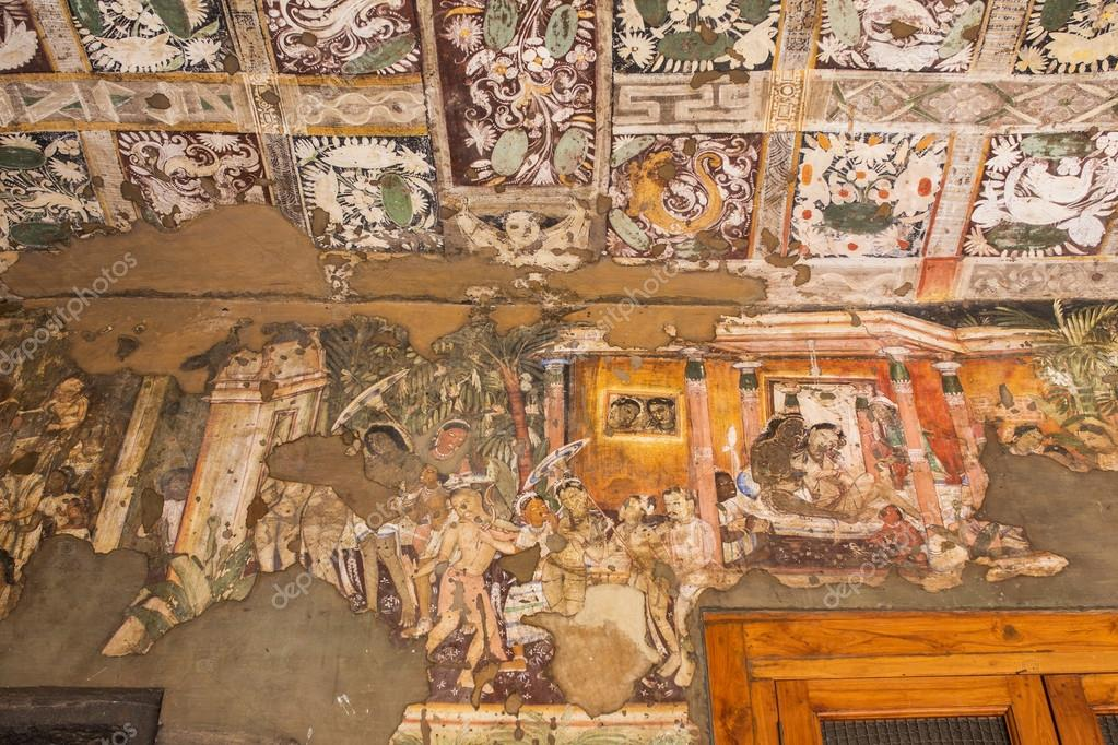 Paintings Inside Ajanta Caves Stock Editorial Photo