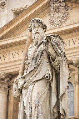 Saint Paul statue in Vatican