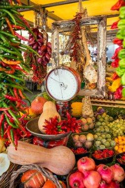 Vegetables in Italian market