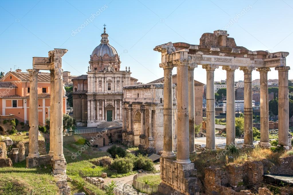 Рим  описание столицы Италии  архитектура