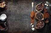 Fotografie kompozice kávy