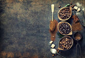 Fotografie Coffee composition