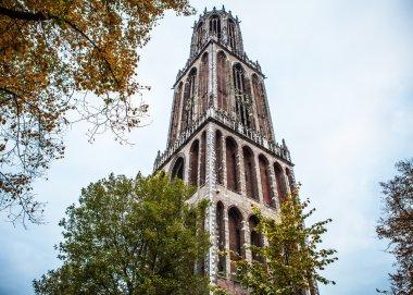 Ancient European church. Utrecht - Holland.