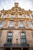 Fassade des traditionellen Gebäude in Paris