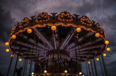 Merry-Go-Round (carousel) in Paris