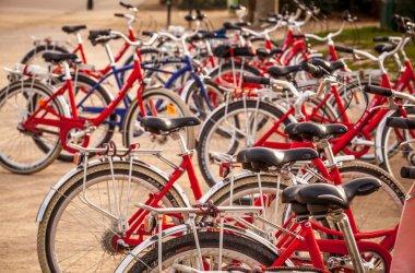 City bikes for rent in Paris