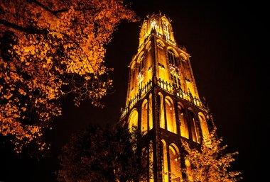 Ancient European church  Utrecht - Holland.