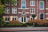 Hagyományos lakott ház Haarlem