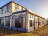 Fotografie Staré prázdné budovy v Giethoorn, Nizozemsko
