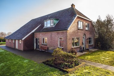 Old cozy house in Giethoorn, Netherlands.