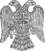 Byzantské dvojité čele orel