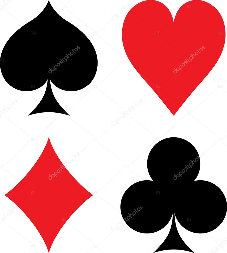 Symbols of playing cards stock vector portokalis 60040157 symbols of playing cards stock vector biocorpaavc