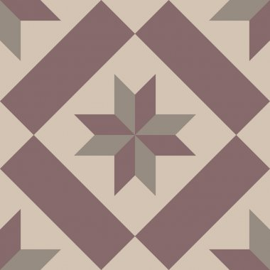 Hydraulic vintage cement tiles
