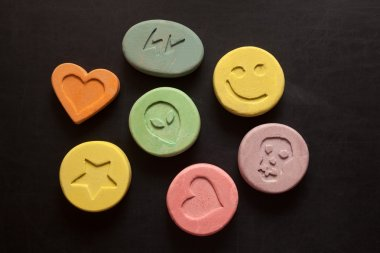Ecstasy pills or tablets - Drugs