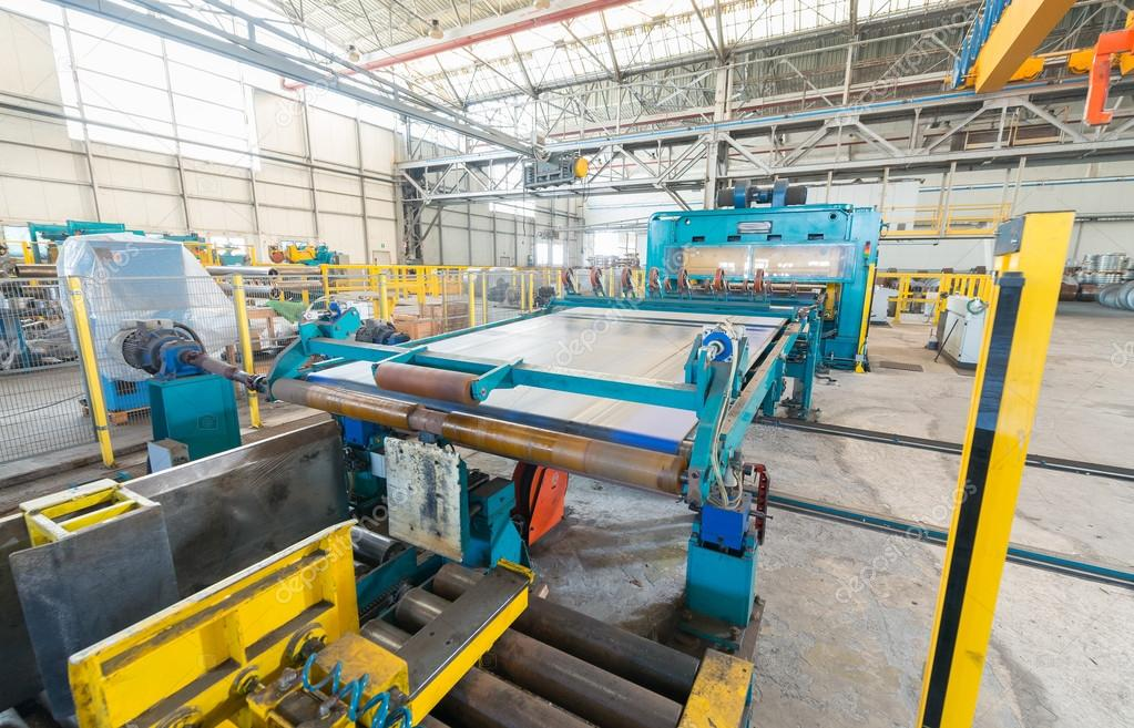 Industrial environment for cutter machine