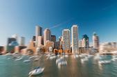 Fotografie Boston budov a mrakodrapů