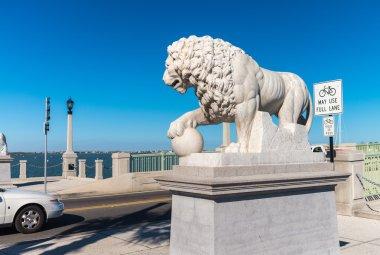 St. Augustine, Florida, USA. Bridge of Lions